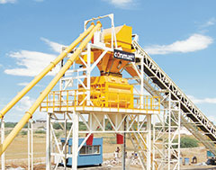 KYB Conmat Stationary Concrete Batching Plant