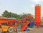BHAI Pumpcrete's Compact concrete batching plant for high strength concrete