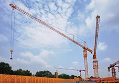 Zoomlion D1250-80 Tower Crane - A World-Record Breaker