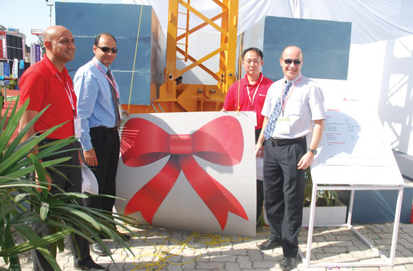 New tower crane from Potain to aid Indian construction boom