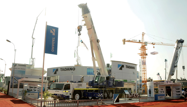 Tadano bullish on Indian market for its advanced quality mobile cranes