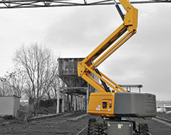 Haulotte's HA 26 RTJ Pro articulated boom keeps pace with productivity and operators' demand