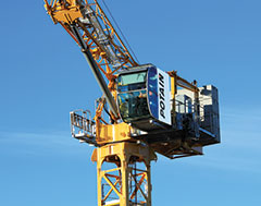 Potain launches its first hydraulic topless luffing jib tower crane