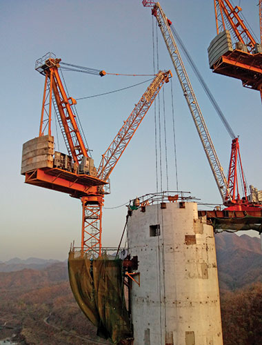 L&T uses Potain cranes of Manitowoc to build 182-m Statue of Unity in Gujarat