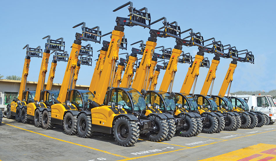 HAULOTTE Telehandlers: Lifting Stronger & Higher