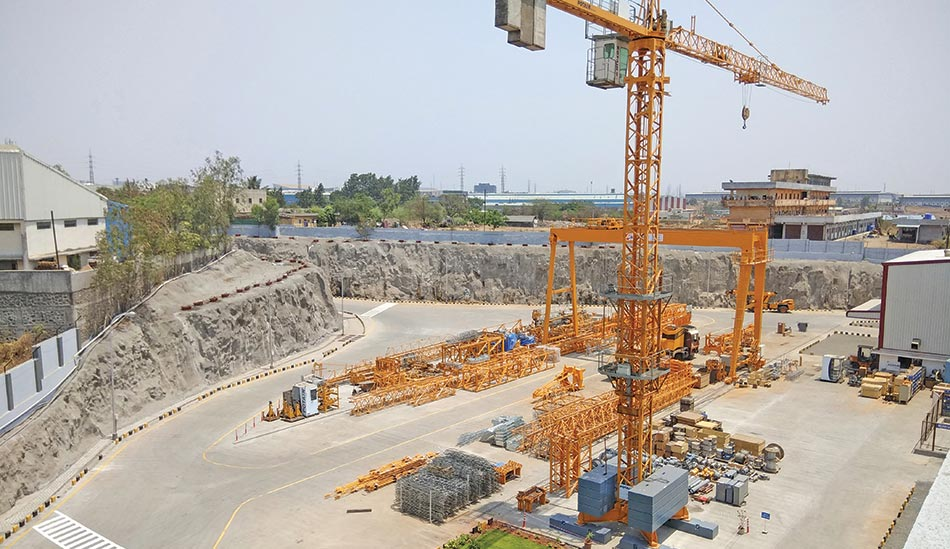 Manitowoc scales up productivity in Asia with new tower