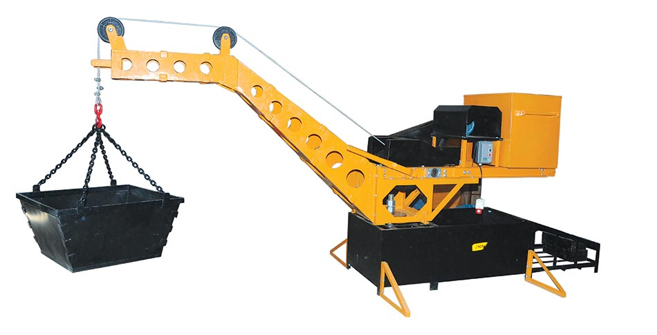 New Ages Mini Lift For Safe Lifting Of Building Materials