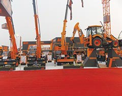 Action Construction Equipment (ACE) - showcases new NX series of cranes