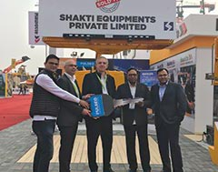 HAULOTTE organizes key handover to SHAKTI Equipments Pvt. Ltd., and RENTEASE International LLP; showcases brand new HA20LE PRO, the first AWP under its PULSEO series