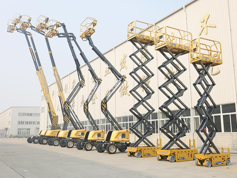 Schwing Stetter India Brings XCMG Aerial Work Platform to India