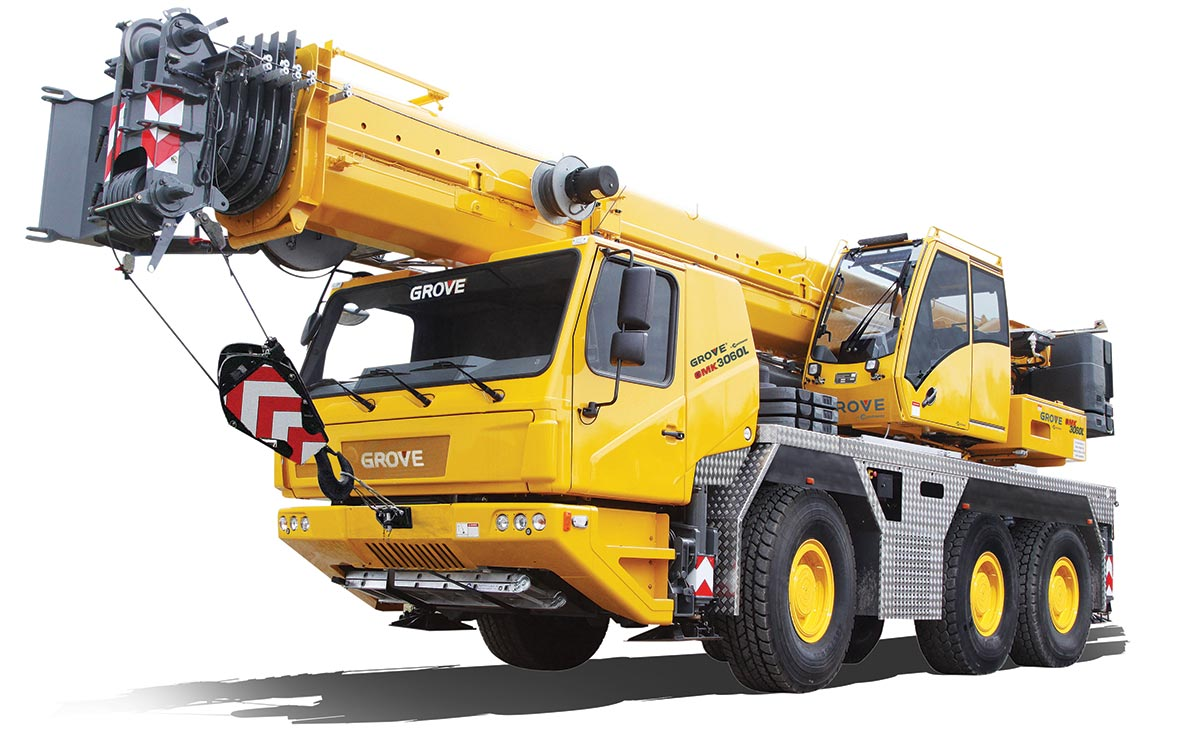 Grove to launch successor to the popular GMK3060 at bauma 2019
