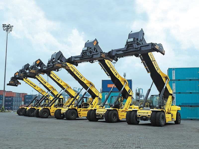 Material Handling Industry in Growth Phase