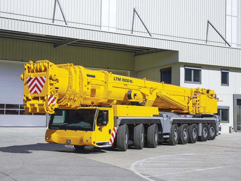 Liebherr unveils several new products