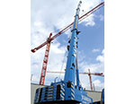 Manitowoc's Grove GMK6300L Heads for Highrise Work