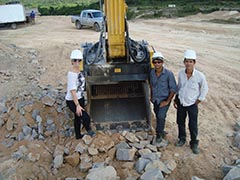 MB Crusher Buckets working successfully on important Brazil Projects