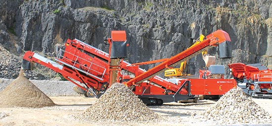 Terex® Finlay Launching New Terex® Finlay 684 Tracked Mobile Inclined Screen
