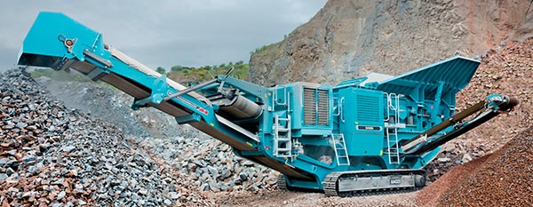 Powerscreen X400S Pre-screen