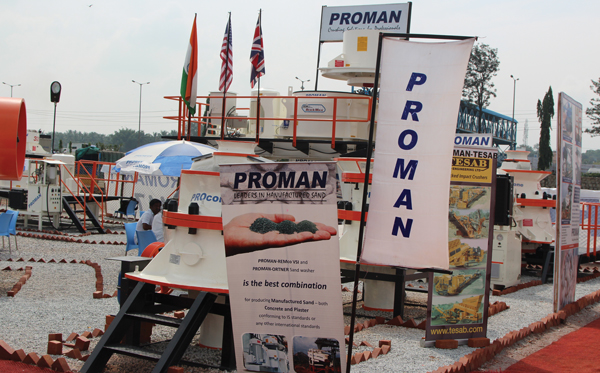 Proman total solution provider for crushing & screening in India