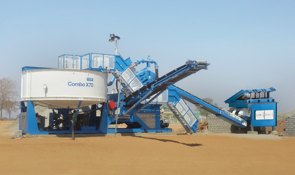 CDE sand washing system