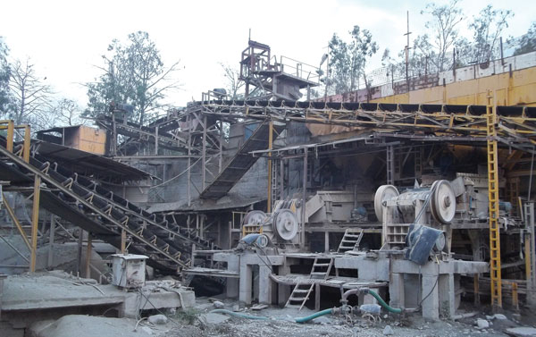 LSC Infratech Crushing Plants