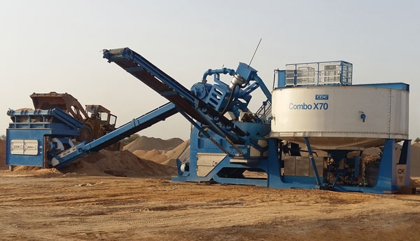 CDE Asia Sand And Aggregate Washing
