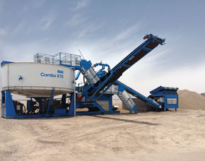 CDE Combo Mobile Washing Plant