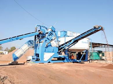 CDE Sand Washing Plant