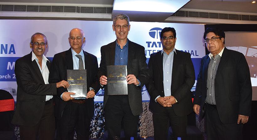 Puzzolana Collaborates with Tata International