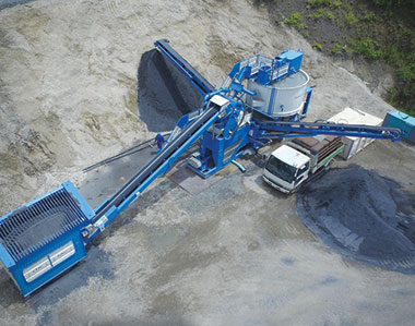 Combo X70 - Mobile Sand Washing Plant to Make Manufactured Sand