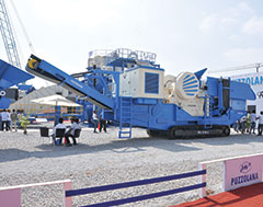 Puzzolona showcases 12 new products in mineral processing, concreting, and road construction