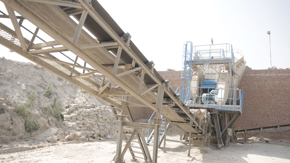 thyssenkrupp delivers high performance aggregate crushing and screening plant