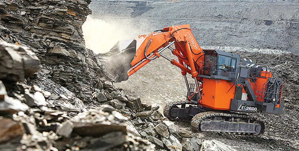 Hitachi Construction Machinery - Announces New EX-7 Series Mining