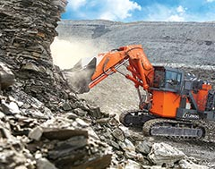 Hitachi Construction Machinery - Announces New EX-7 Series Mining Excavators