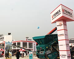 Terex showcases new FM 120 Conexus Wash Plant with water recovery system