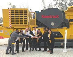 Keestrack eyes huge potential in Indian Tracked Crusher Market with  their Zero Emission Machines