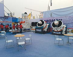 PROMAN exhibits new range of higher capacity cone crushers