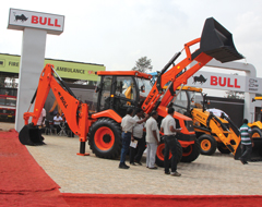 Bull Backhoe Loader