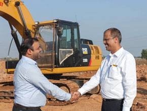 Dilip Buildcon Caterpillar