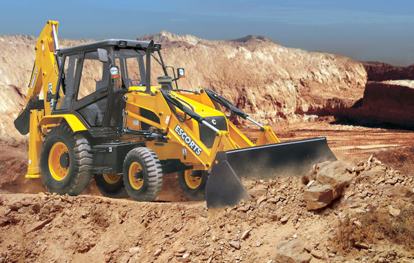 ECE DIGNAX II Backhoe Loader