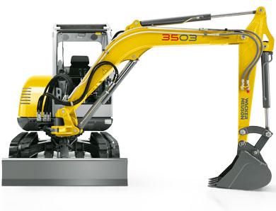 Wacker Neuson Introduces Mini Excavator Model 3503