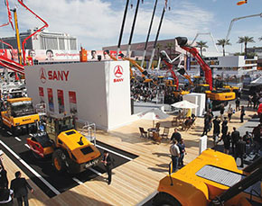 Sany to exhibit 24 models of earthmoving & material handling equipment