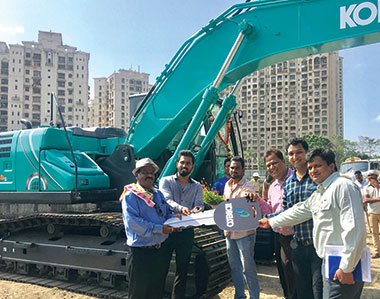 Naidu's Infracon picks Kobelco's 10th generation excavator model