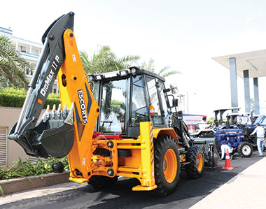 Escorts Unveils India's First Electric & Hydrostatic Tractor and 100-HP Backhoe Loader