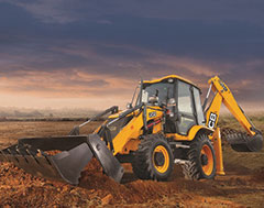 JCB introduces the world's first Backhoe Loader with AMT  & the largest Made in India Excavator, the JCB 380LC