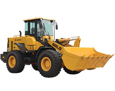 SDLG launches new wheel loader
