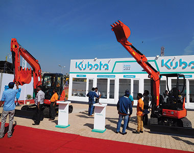 Kubota unveils new 3 and 5-ton excavators