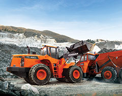 Doosan Wheel Loaders - Highly Productive and Fuel Efficiet