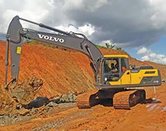 Volvo EC210D Fuel-Efficient Hydraulic Excavators