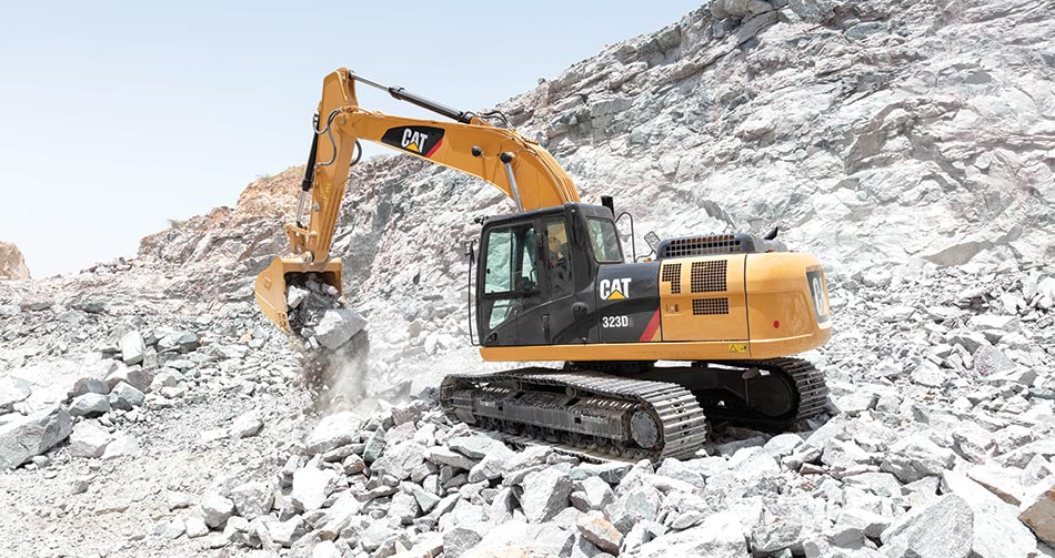 Caterpillar launches heavy-duty excavator with more hydraulic power