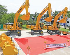 Komatsu and L&T introduce two new models of Hydraulic Excavators in 30-ton class